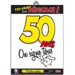 T-shirt dédicace anniversaire 50 ans