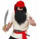 Perruque et barbe pirate