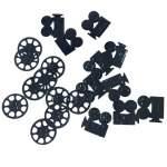 Confettis de table cinéma