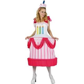 Déguisement gâteau d'anniversaire