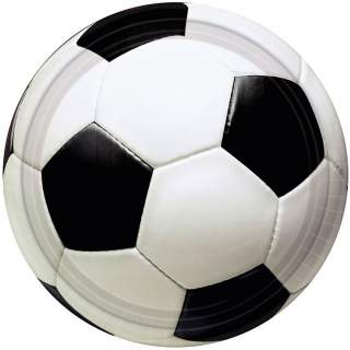 8 assiettes ballon football