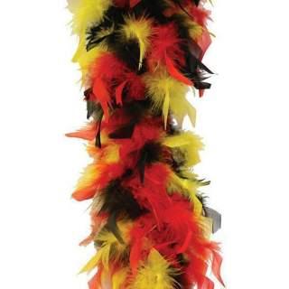 Boa plumes tricolores