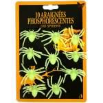 10 araignées phosphorescentes