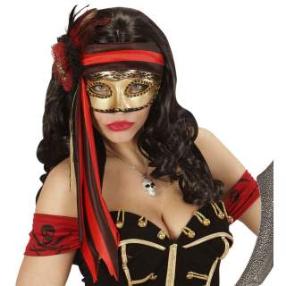 Masque pirate femme
