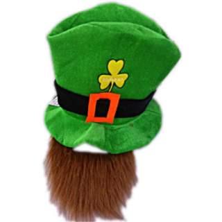 Haut de forme Saint Patrick avec barbe