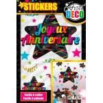 Stickers Joyeux Anniversaire