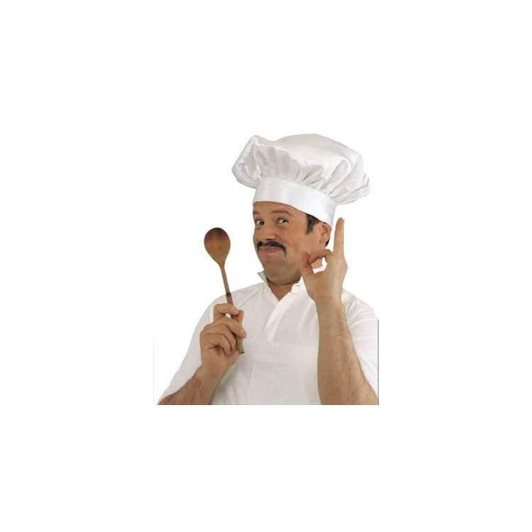 Toque blanche de chef cuisinier m ga f te for Cuisinier 95
