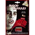 Lot de 8 capsules de sang