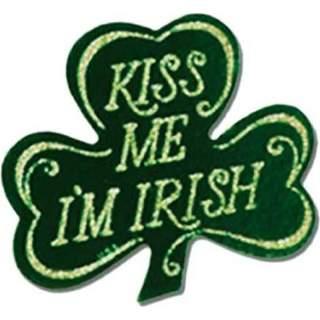 Boutonnière Irish autocollante